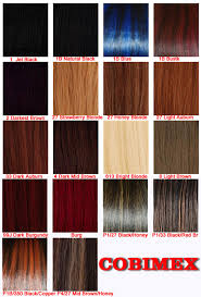 Xpression Hair Color Chart Makeup And Hairstyle