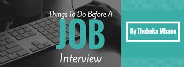 Guest Blog Things To Do Before A Job Interview The Average South
