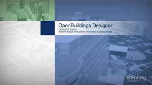 Distinctive Drafting And Design Building Information Modeling Bim Openbuildings Designer