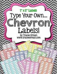 Avery Label Template 5160 Labels Chevron Editable 1x2 Avery 5160