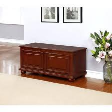 foyer furniture ikea. Furniture Traditional Cedar Storage Chest In Rich Cherry Finish Red Foyer Bench Ikea