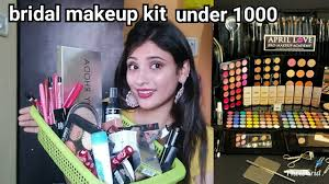 indian bridal makeup kit under 1000 only in hindi shystyles