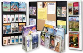 Flyer Display Stands Literature Displays for Advertising Events with Pocket Configurations 44