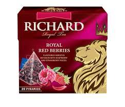 <b>Чай фруктово</b>-<b>травяной Royal</b> Red Berries 20 пак. <b>Richard</b> ...