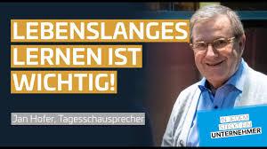 Jan hofer sehen täglich millionen deutsche und lauschen der stimme. In Jedem Steckt Ein Unternehmer Interview Mit Jan Hofer