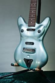 Bass guitar in pussy