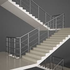 Office Stairs Office Stairs 3d Cgtrader