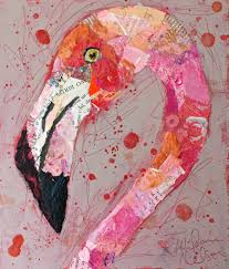 exotic bird head series for reion by pier one imports these paper paintings were created for