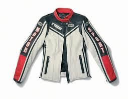 spidi motorsport lady leather jacket in ice black 40 42 44 46 48 50 52