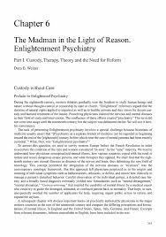 the madman in the light of reason enlightenment psychiatry   springerchapter metrics