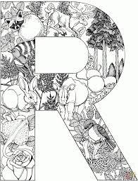 La Letra R Super Coloring Art Alphabet Coloring Pages In De