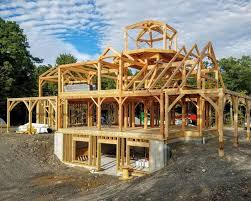 Learn About the Building Process. Although each custom Woodhouse timber  frame home ...