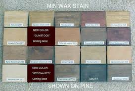 Minwax Stain Colors On Pine In 2019 Wood Stain Colors
