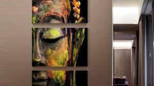 harmonious buddha canvas wall art