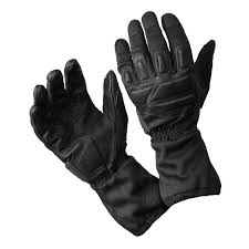 og51 tactical glove in kevlar long cuff leather reinforcements