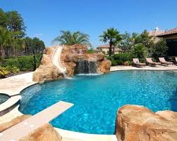 mansion with indoor pool with diving board. Amazing Pool With Diving Board Slide And Jumping Rock Awesome Swimming Indoor House Pools Mansion