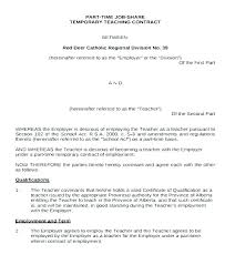 Temporary Employment Contract Template Fixed Term Employment Contract Template