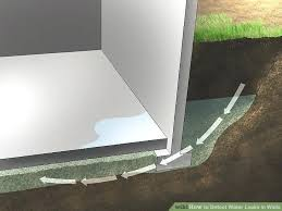 water leakage in walls image titled detect leaks step leak between leaking bathroom wall water leakage in walls