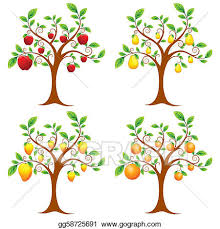 fruit tree clipart. Brilliant Fruit Fruit Tree To Clipart R