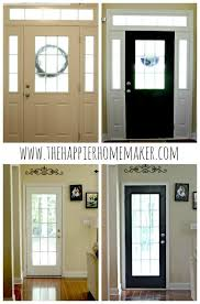 white interior front door. Painting Interior Doors Black | Doors, Door And White Front S