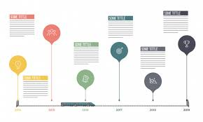 Timeline Infographics Layout With Six 6 Steps Vector Premium