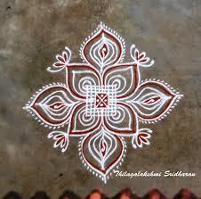 Small Kolam Designs For Apartments Rangoli And Art Works Padi Kolam Small Rangoli Design