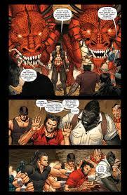 Wolverine. Jason Aaron. Tom 4 - Przykładowe plansze #2 - Aleja Komiksu