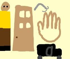 man hook hand hook car door. man door hand hook car (google pls)