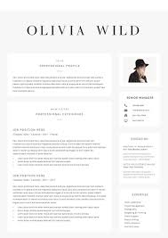 Boutique Owner Resume 5 Page Resume Template Ultra Chic By The Resume Boutique