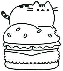 71g8zjre8gl At Pusheen Coloring Pages Coloring Pages For Children