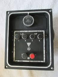 jbl 2800. jbl model 3105 crossover 2800