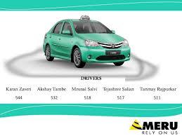 Meru Cabs Strategic Presentation