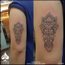 Top 12 Best Ganesh Tattoo Ace Tattooz Art Studio