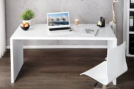High office desk Table Alamy Enzo White High Gloss Computer Office Desk Furniturebox