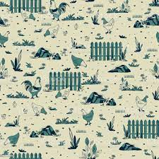 Seamless Vector Pattern With Chickens ...