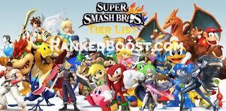 Ssb4 Tier List Super Smash Bros 2017