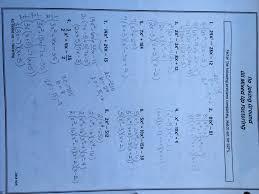 10 16 factoring practice answer keys no joking mixed