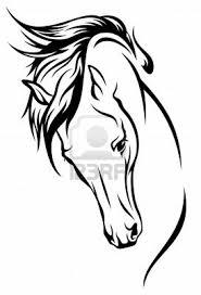 Horse Outline Tattoo Ideas Ornament Tatoo Tetování Koně