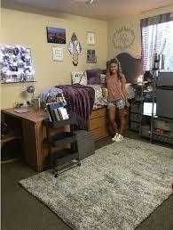 A College Dorm Room Makeover To Add Personality  Dorm Room Designer Dorm Rooms