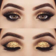 shimmery gold smokey cat eye makeup here is where you can find that perfect gift for friends and family members