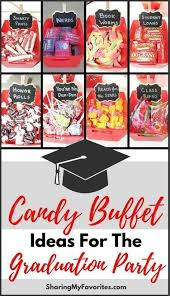 candy bars for graduation parties.  Bars Graduation Candy Bar Ideas Luxury Party Buffet  Pinterest Intended Bars For Parties