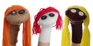 Resultado de imagen de teatro marionetas a mano creativas calcetin