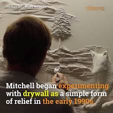 this drywall artist turns ordinary walls into works of art by providr watch or downvids net
