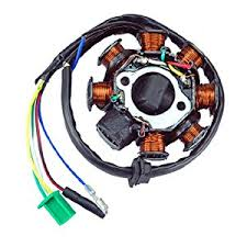 com new ac magneto stator coil pole wire gy cc new ac magneto stator 8 coil 8 pole 5 wire gy6 125cc 150cc atv scooter