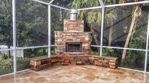 Outdoor Kitchen Fireplace Beautiful Stonework Outdoor Kitchen And Fireplace Feature