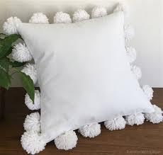 pom pom pillow. Modren Pillow In Pom Pillow