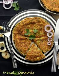 masala omelette recipe indian style