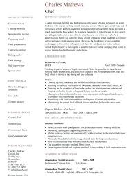 Sample Cook Resume Restaurant Cook Resume Samples Line Cook Job ...