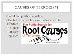 terrorism causes effects and solutions 5 causes of terrorism
