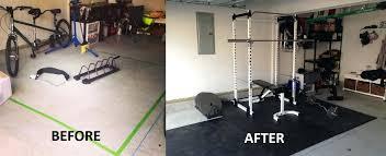 garage gym flooring wallpaper photos diy dumbbell weight rack